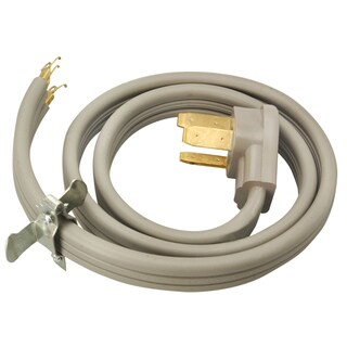 Coleman Cable 09014 4' Grey Range Cord
