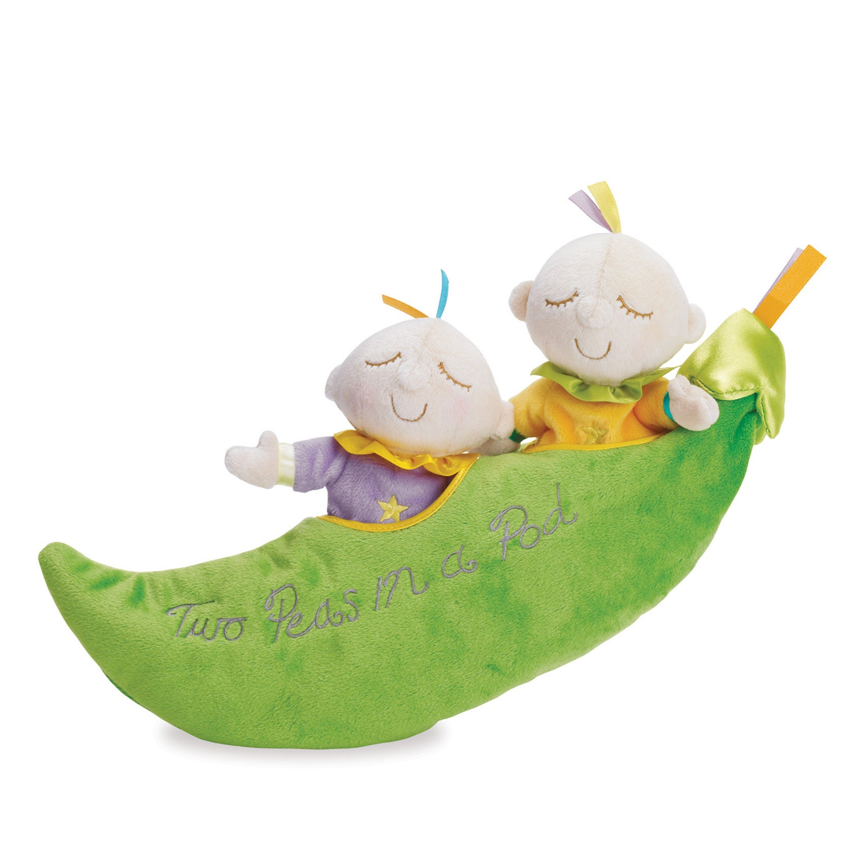 Manhattan Toy Snuggle Pods Two Peas in a Pod Baby Doll (G...