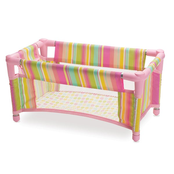 Manhattan Toy Baby Stella - Take Along Travel Crib for 15-inch Dolls