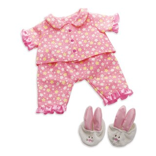 Manhattan Toy Baby Stella Goodnight PJ 15-inch Baby Doll Outfit