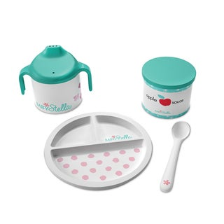 Manhattan Toy Baby Stella - Darling Dish Set Doll Accessory