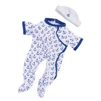 Manhattan Toy Baby Stella Anchors Away 15-inch Baby Doll Outfit