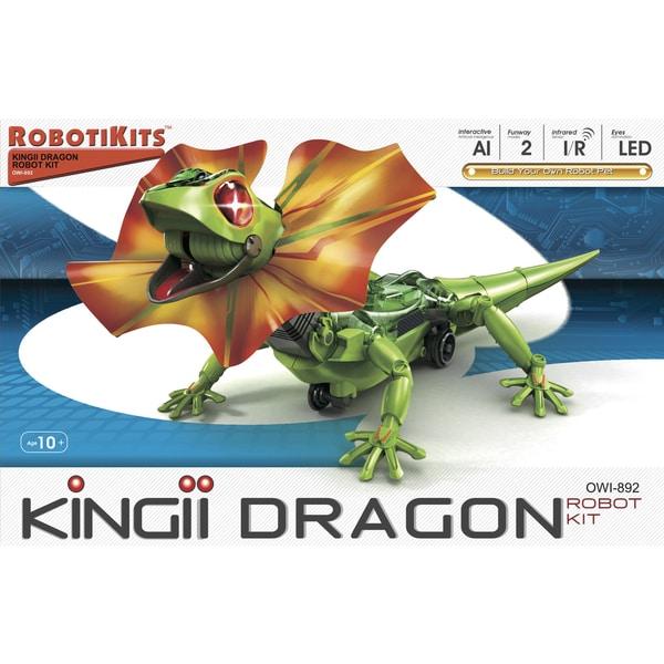OWI Kingii Dragon Artificial Intelligence Plastic Robotic Pet