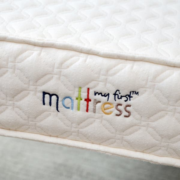 check out 2589b c4eb1 Shop My First Quilted Baby Crib Mattress & Removable Cover ...