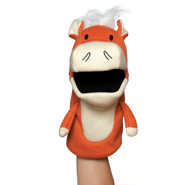 Manhattan Toy Knit Puppets - Hoofly Hand Puppet