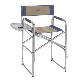 Kamp-Rite High-Back Director's Chair with Side Table