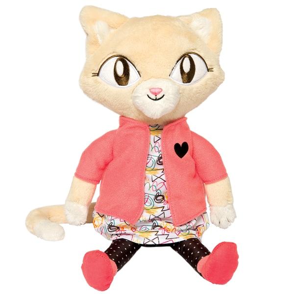 Manhattan Toy Alley Cat Club 14-inch Jinx Plush Toy