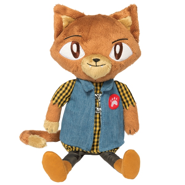 Manhattan Toy Alley Cat Club Lou 14-inch Plush Toy