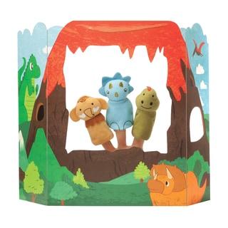Manhattan Toy Dinosaur Adventures Finger Puppet Set