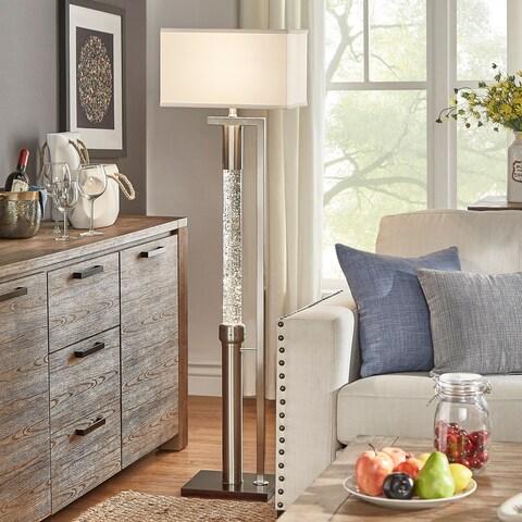 Crystalline Dancing Water Floor Lamp by iNSPIRE Q Bold