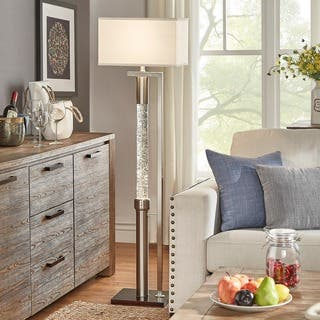 floor lamps living room. Crystalline Dancing Water Floor Lamp by iNSPIRE Q Bold Lamps For Less  Overstock com