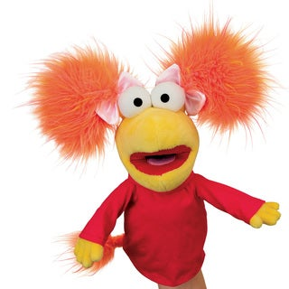 Manhattan Toy 'Fraggle Rock' Red Hand Puppet