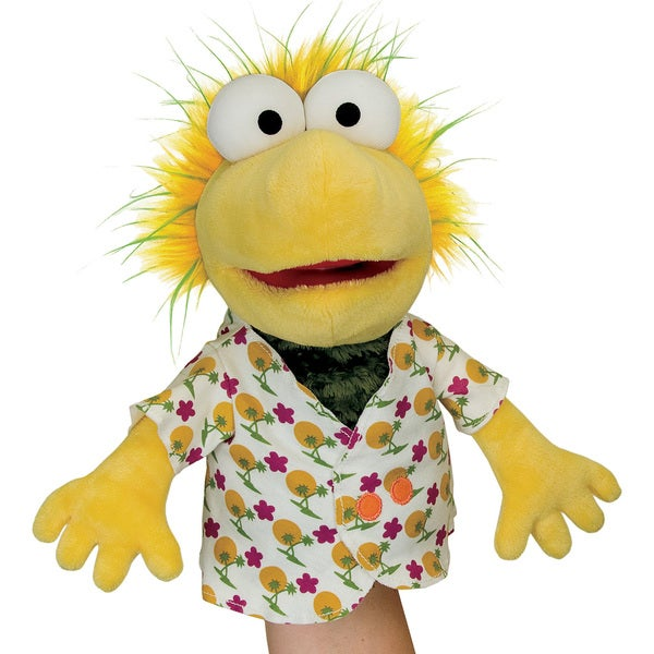 Manhattan Toy Fraggle Rock Wembley Hand Puppet