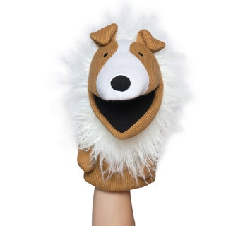 Manhattan Toy Knit Puppets Collin Hand Puppet