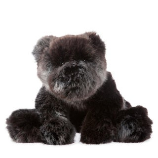 Manhattan Toy Luxe Sable Bear 9-inch Plush Toy