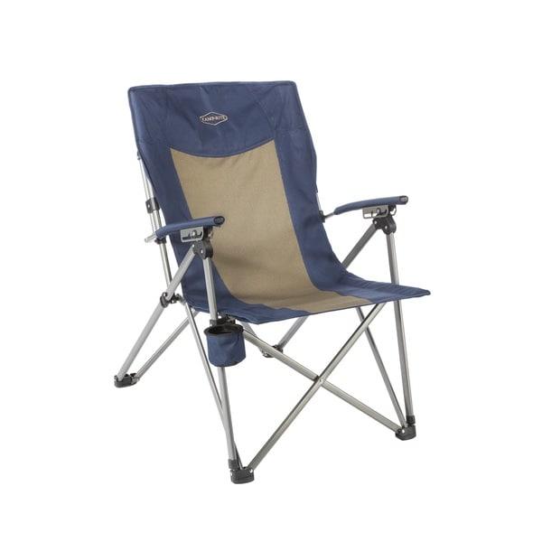 Kamp-Rite 3-Position Hard Arm Reclining Chair