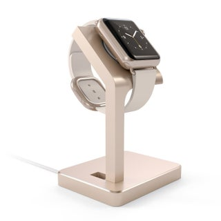 Satechi Aluminum Apple Watch Charging Stand (Option: Gold)