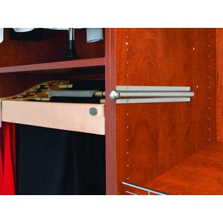 Rev-A-Shelf 12-inch Standard Valet Rod Satin Nickel