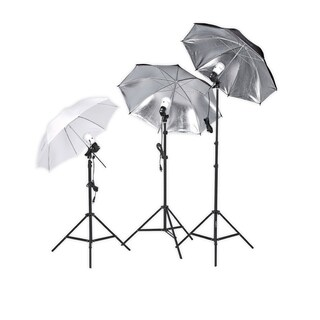 Square Perfect Professional Photography Studio Lighting Umbrella Soft-Light Kit