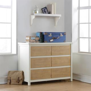 Dorel Living Blaine 6-Drawer Dresser