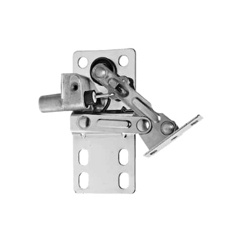 Rev-A-Shelf LD-0220-50SC Pair of Soft-Close Sink-Front Tip-Out Tray Hinges Zinc