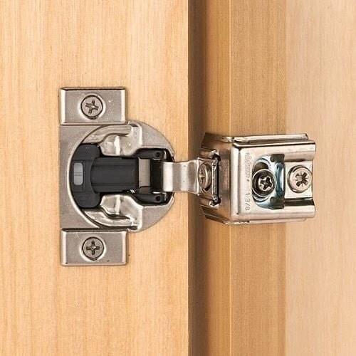 Blum Blumotion 39 C 1 1//2 Overlay Soft Close Cabinet Hinges 39C355B.24