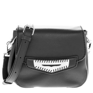 Tod's Mini Smooth Leather Crossbody Bag with Flap Infilature Penny Bar