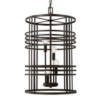Capital Lighting Transitional 4-light Old Bronze Foyer Fixture