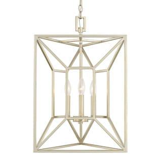 Capital Lighting Transitional 3-light Soft Gold Foyer Fixture