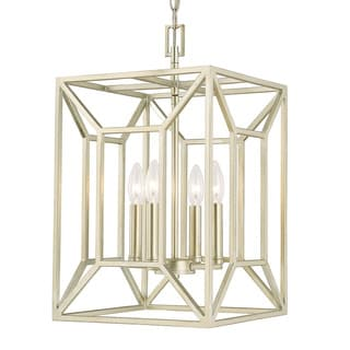 Capital Lighting Transitional 4-light Soft Gold Foyer Fixture