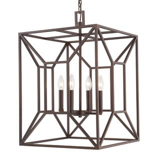 Capital Lighting Transitional 4-light Burnished Bronze Foyer Fixture