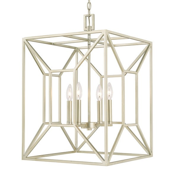 Capital Lighting Transitional 4 Light Soft Gold Foyer Fixture   N/A