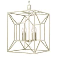 Capital Lighting Transitional 4-light Soft Gold Foyer Fixture