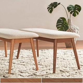 dining benches and chairs. norwegian danish modern tapered upholstered dining bench inspire q benches and chairs