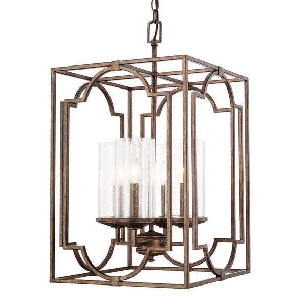 Foyer Lighting Overstock : Capital lighting avanti collection light rustic foyer