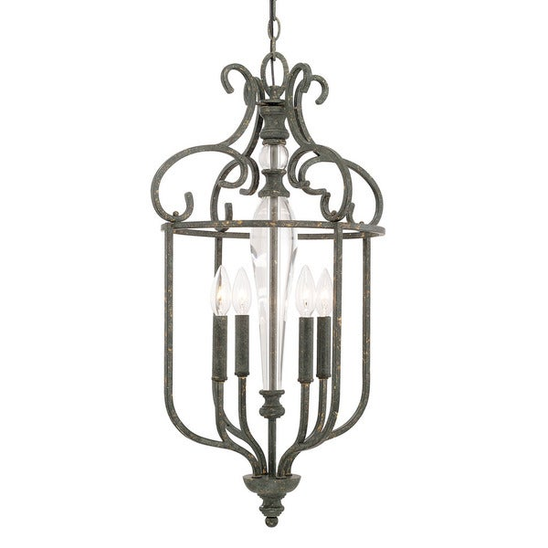 Capital Lighting Everleigh Collection 4-light French Greige Foyer Fixture