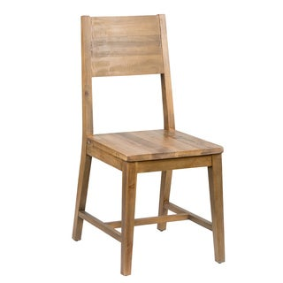 Kosas Home Oscar Natural Recovered Shipping Pallets Hand-crafted Dining Chair