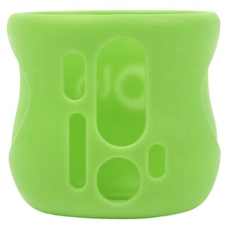 Olababy Green Silicone 4-ounce Sleeve for Avent Natural Glass Bottles