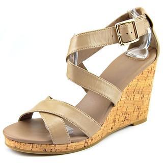 Cole Haan Women's 'Jillian Wedge' Leather Sandals