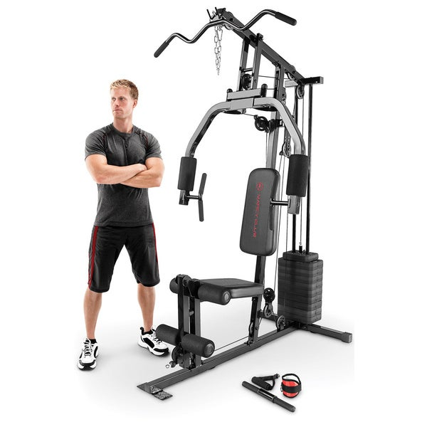 Shop marcy 100 pound single stack home gym on sale free shipping
