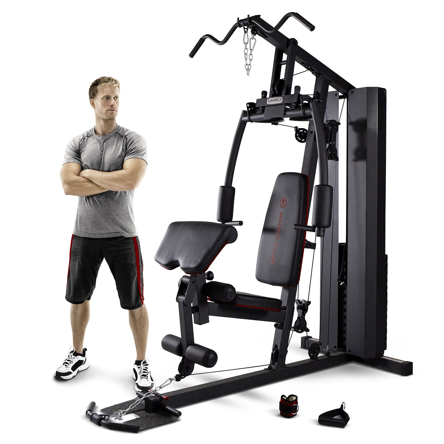 Marcy 200-Pound Stack Home Gym (200 lb Stack Home Gym), S...