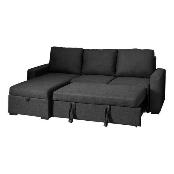 Sensational Shop Abbyson Newport Upholstered Sleeper Sectional With Alphanode Cool Chair Designs And Ideas Alphanodeonline