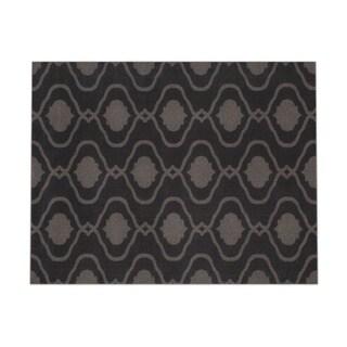 Moroccan Trellis Modern Grey Area Rug (7'10 x 10'2)
