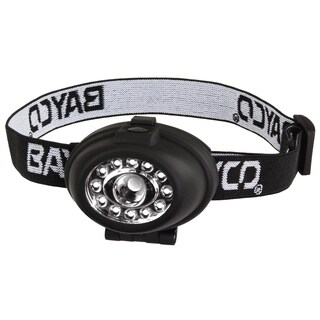 Night Stick BAP-2212B2 89 Lumens Black LED Headlamp