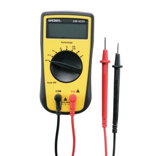 GB Digital 7 Function Multimeter 500V AC to 600V DC Yellow/Black