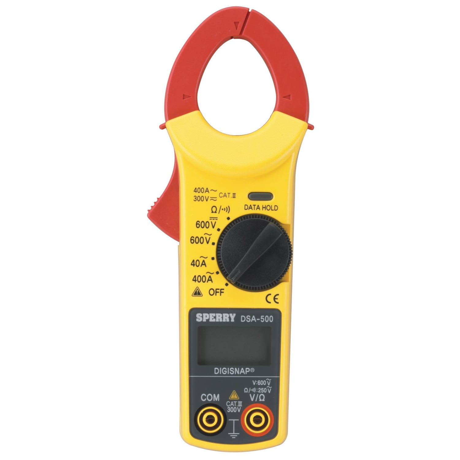 GB Sperry Snap-Around LCD Digital Clamp Meter 300V - 600V...