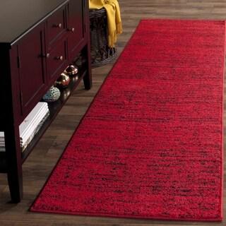 Safavieh Adirondack Modern Red/ Black Rug (2' 6 x 6')