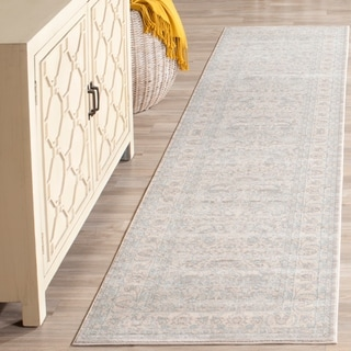 Safavieh Archive Vintage Grey/ Light Grey Distressed Rug (2' 2 x 8')