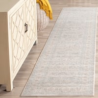 Safavieh Archive Vintage Grey/ Light Grey Distressed Rug - 2' 2 x 8'