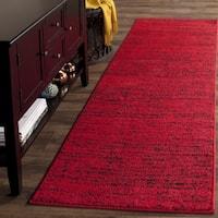 Safavieh Adirondack Modern Red/ Black Rug - 2'6 x 8'